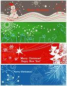 image of happy holidays  - Christmas banners - JPG