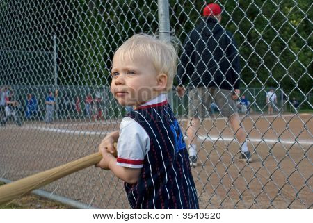 Toddler Wanting To Play Baseball