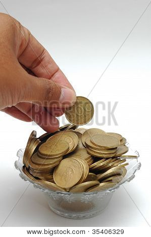 Put A Coin In The Finger Bowl