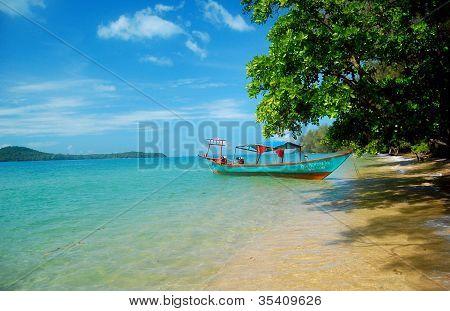 Desert island