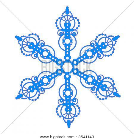 Regal Bauble Snowflake