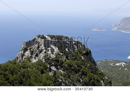 Monolithos Castle, Rhodes, Greece