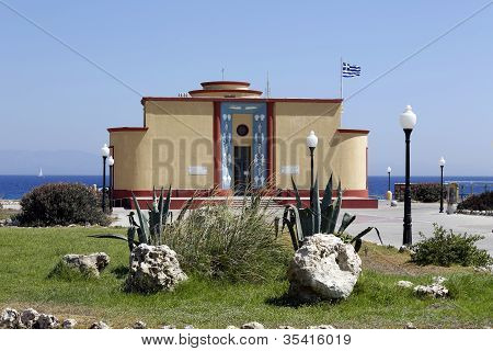 Aquarium-museum And Research Unit, Rhodes, Rhodos