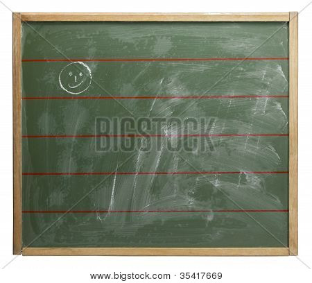 Chalkboard And Smiley