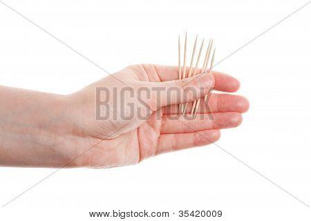 Toothpicks In Hand