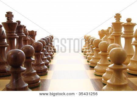 Chess Opposing Forces