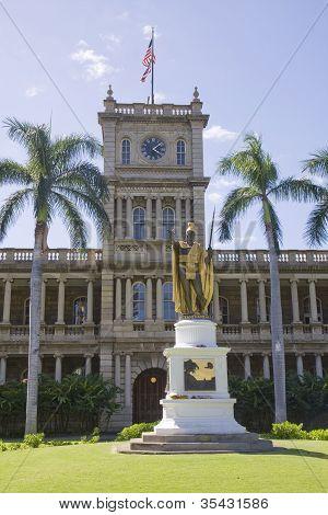 Honolulu State Capital Building, Hawaii