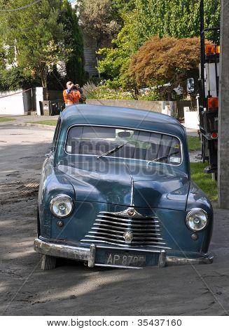 Christchurch Earthquake - Car In Liquefaction