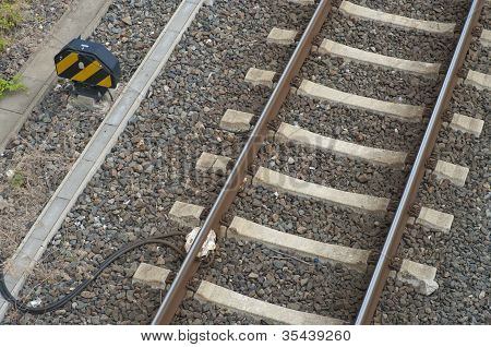 Railway With Sensor
