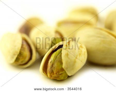 Pistachio Nut In Zoom