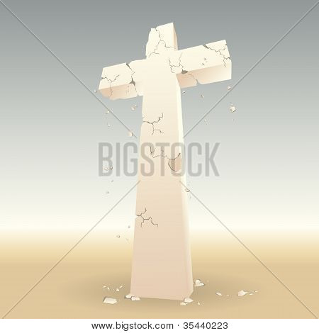 Crumbling Cross