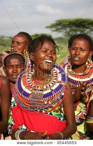 Samburu Girl, Kenya, Africa