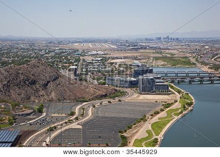 Flying Over Tempe