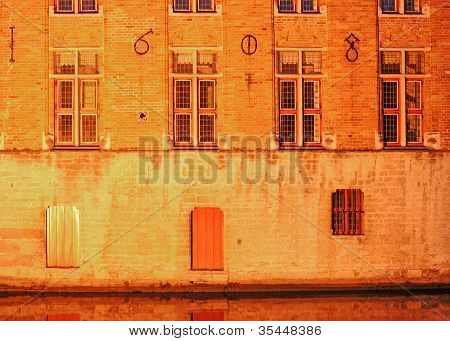 Bruges, old building