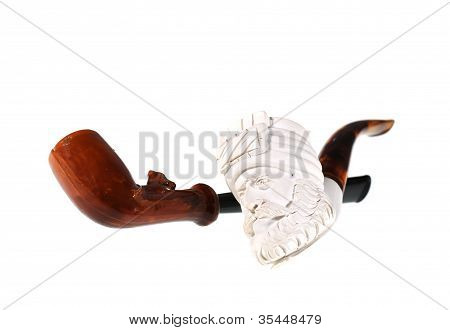 antique tobacco pipes