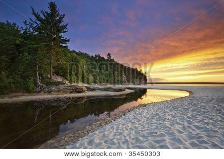 Beautiful Michigan Landscape.