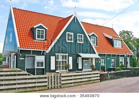 The House On The Island Of Marken. Netherlands