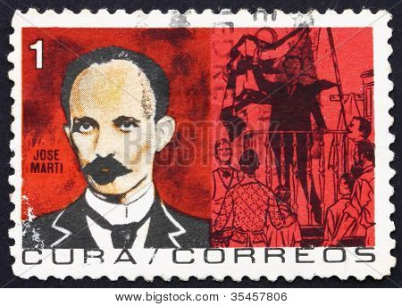 Postage stamp Cuba 1964 Jose Marti, Revolutionary