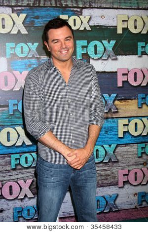 LOS ANGELES - JUL 23:  Seth MacFarlane arrives at the FOX TCA Summer 2012 Party at Soho House on July 23, 2012 in West Hollywood, CA
