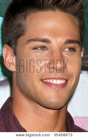 LOS ANGELES - JUL 23:  Dean Geyer arrives at the FOX TCA Summer 2012 Party at Soho House on July 23, 2012 in West Hollywood, CA