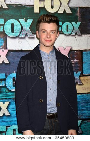 LOS ANGELES - JUL 23:  Chris Colfer arrives at the FOX TCA Summer 2012 Party at Soho House on July 23, 2012 in West Hollywood, CA