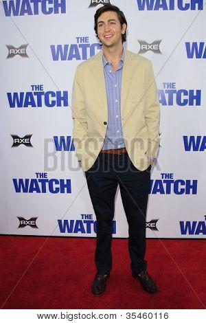 LOS ANGELES - JUL 23: Nicholas Braun at the premiere of