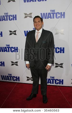 LOS ANGELES - JUL 23: Jonah Hill at the premiere of