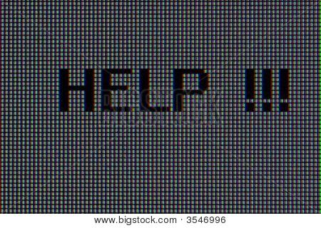 Help !!!, Macro Pixels