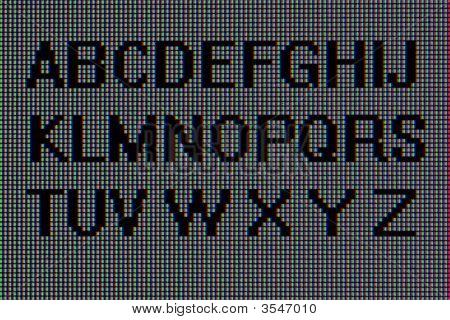 Alphabet, Macro Pixels