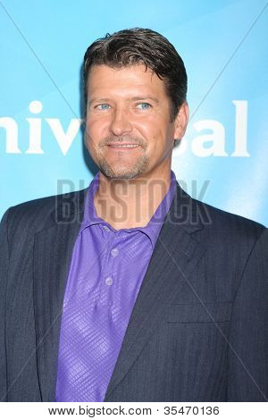 LOS ANGELES - JUL 24:  Todd Palin arrives at the NBC TCA Summer 2012 Press Tour at Beverly Hilton Hotel on July 24, 2012 in Beverly Hills, CA