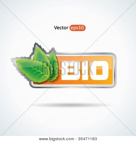 Modern web2 bio button