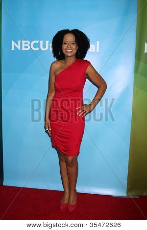 LOS ANGELES - JUL 24:  Tempest Bledsoe arrives at the NBC TCA Summer 2012 Press Tour at Beverly Hilton Hotel on July 24, 2012 in Beverly Hills, CA