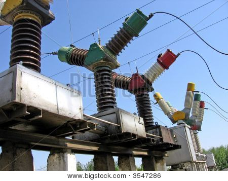 Electricity Power Substation