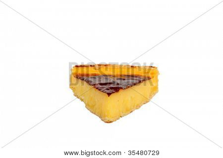 Slice of flan