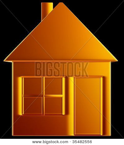 Costly Home:: Golden House Shape
