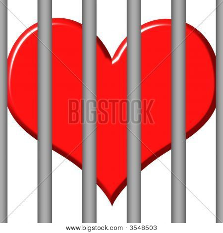 3D Jailed Heart