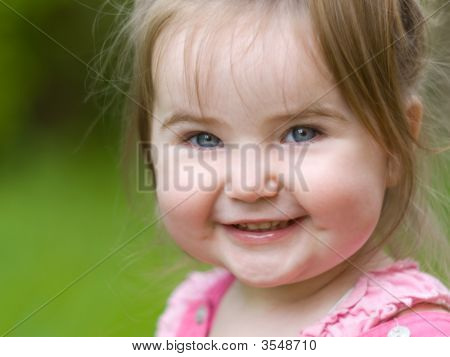 Little Girl Happy Smile