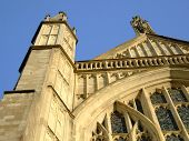 Winchester Cathedral Front Spires