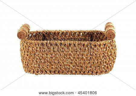 Bulrush Basket