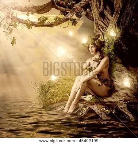 Fantasy Fairytale Beautiful Woman