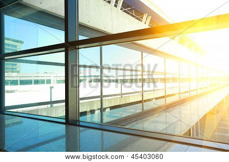Image Of Windows In Morden Office Building