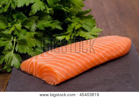 Salmon And Parsley