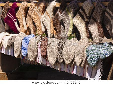 Handmade Wool Socks