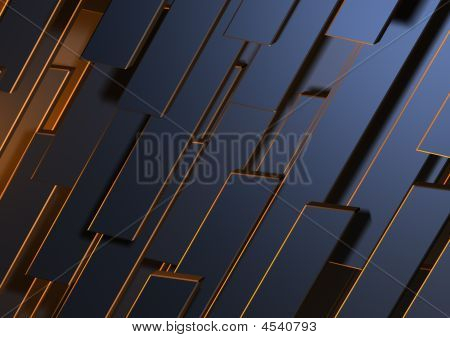 Metal Abstract Forms