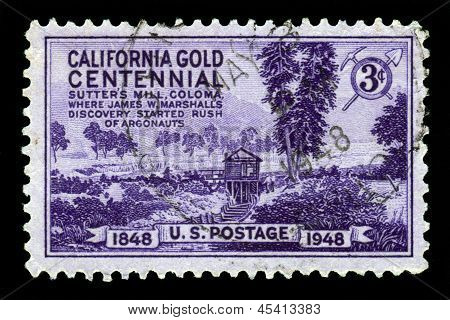 Centenary Of California Gold Rush