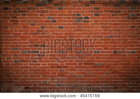 Brickwork Of Red Brick