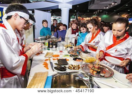 Tasting Dishes Of Oriental Cuisine