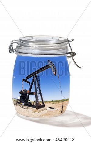 Oil Well in a Jar.