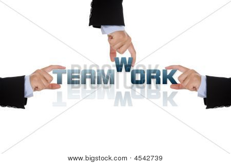 Teamwork Business Concept