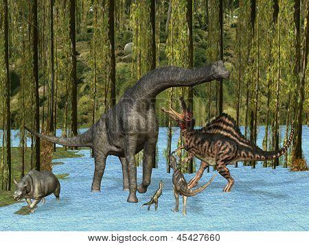 Dinosaurios de Jurassic